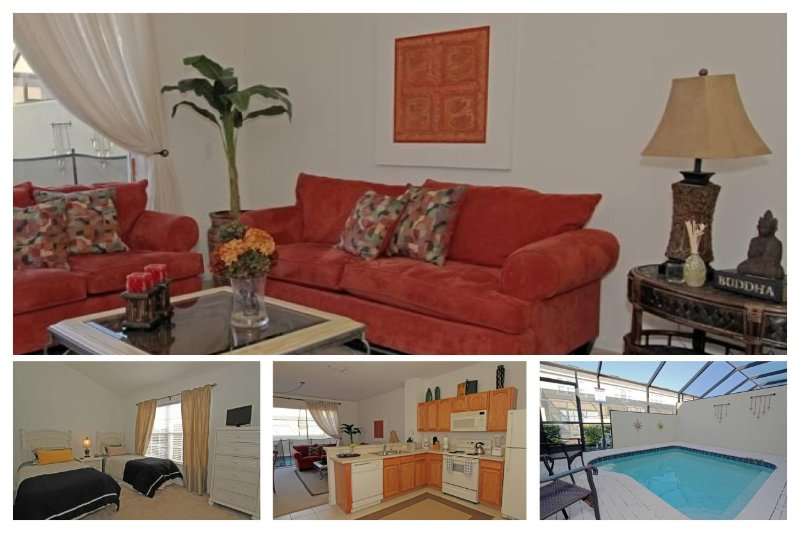 Elegant, and professionally decorated Orlando vacation townhouse, located in the beautiful Windsor Hills Resort. - Image 1 - Four Corners - rentals