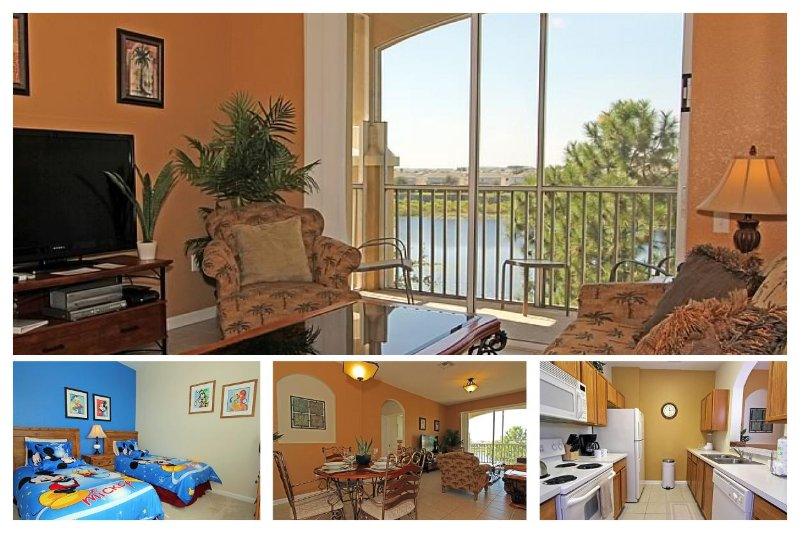 Refined, plush 3 bedroom, 2 bathroom 3rd floor condo ideal for family groups in Windsor Hills - Image 1 - Four Corners - rentals