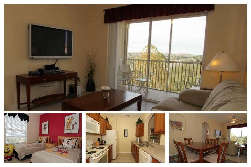 Located near Disney, 3 bedroom 2 bathroom, top floor luxury homely condo - Image 1 - Four Corners - rentals