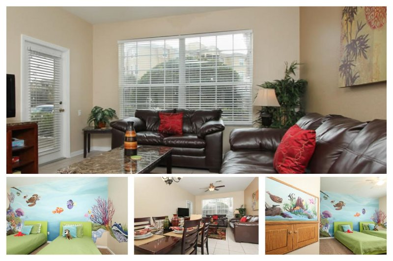 Luxury 3 Bed Apartment with Pool and Themed Rooms - Image 1 - Four Corners - rentals