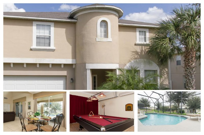 Fantastic Family Home - Private Pool, Games Room - Image 1 - Reunion - rentals