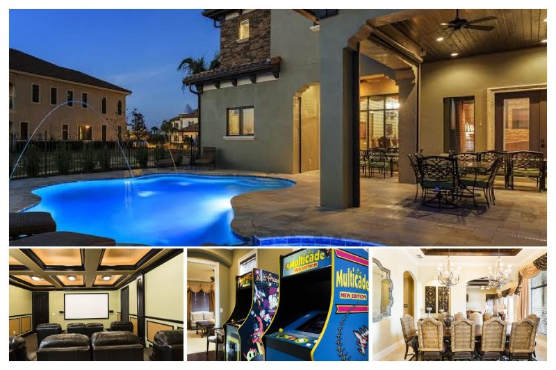 8 Bed Reunion home - Private pool - golf views - games room - cinema - Image 1 - Reunion - rentals