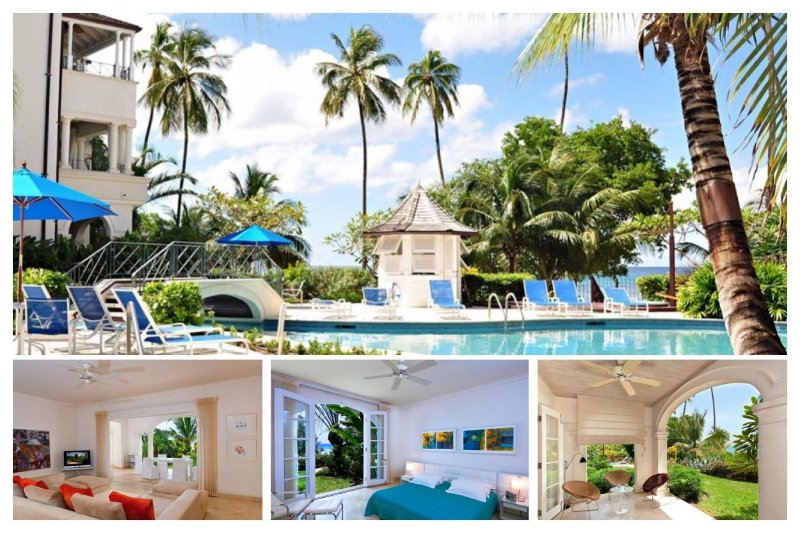 Luxury, beachfront 3 bedroom villa, stunning sunsets and jacuzzi - Image 1 - Mullins Beach - rentals