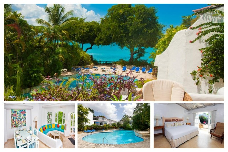 Charming 3 bedroom apartment, with direct access to the beach - Image 1 - The Garden - rentals