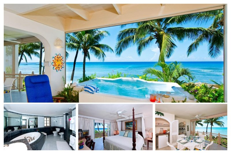 Stunning 2 Bed Villa with Private Spa, Ocean Views - Image 1 - Weston - rentals