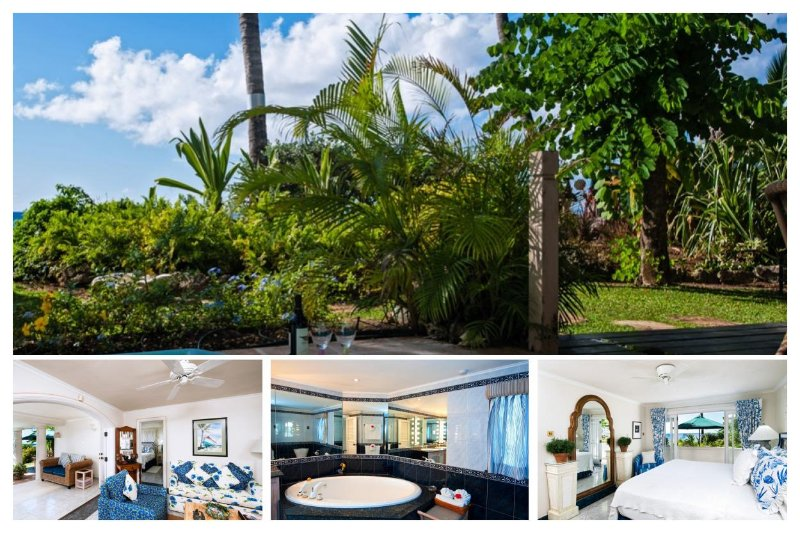 Fantastic 2 Bed Villa - Private Spa, Ocean Views - Image 1 - Weston - rentals