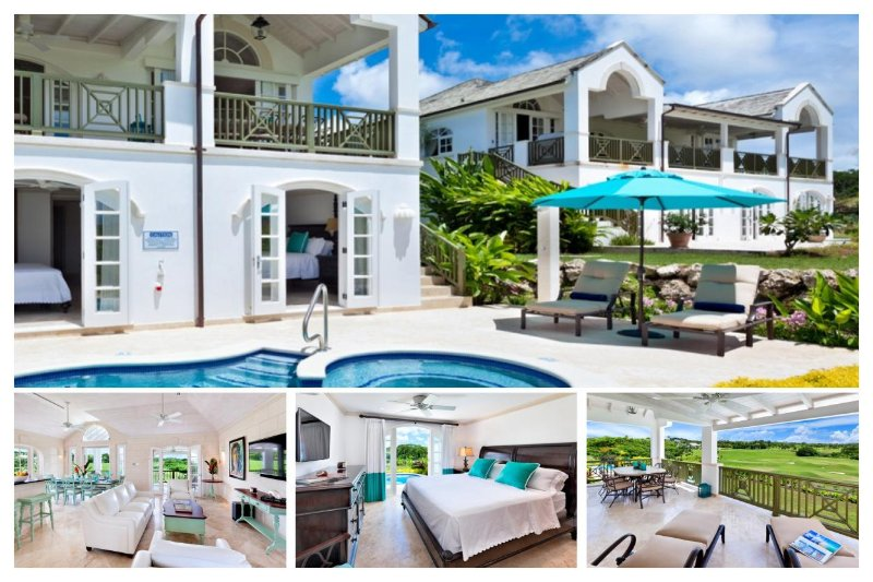 Beautiful 4 bedroom villa, located on Royal Westmoreland Golf course, stunning sunsets. - Image 1 - The Garden - rentals