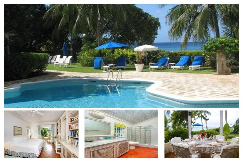 Amazing 3 Bed Beachfront Villa with Ocean Views - Image 1 - Gibbes - rentals