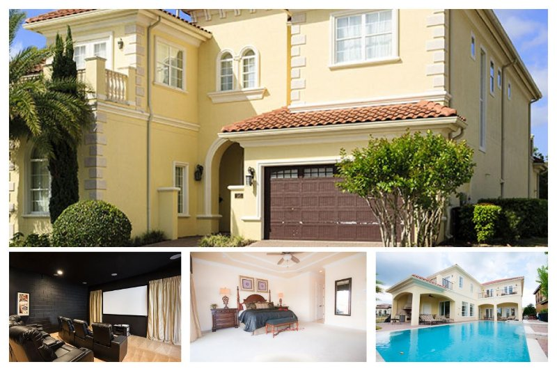 Fabulous 5 bedroom home with cinema, games room and private pool and spa - Image 1 - Reunion - rentals