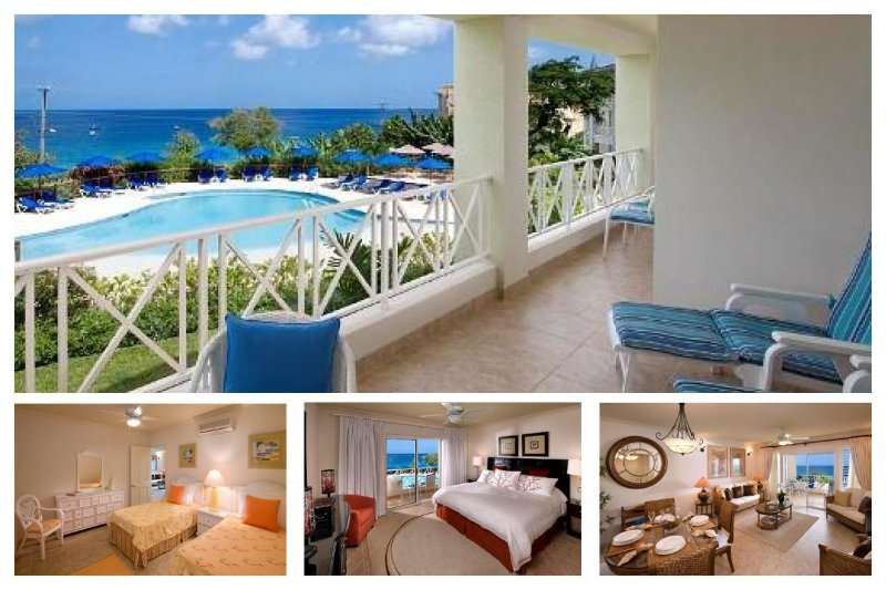 Stunning 2 Bed Apartment with Pool and Ocean Views - Image 1 - Lascelles Hill - rentals