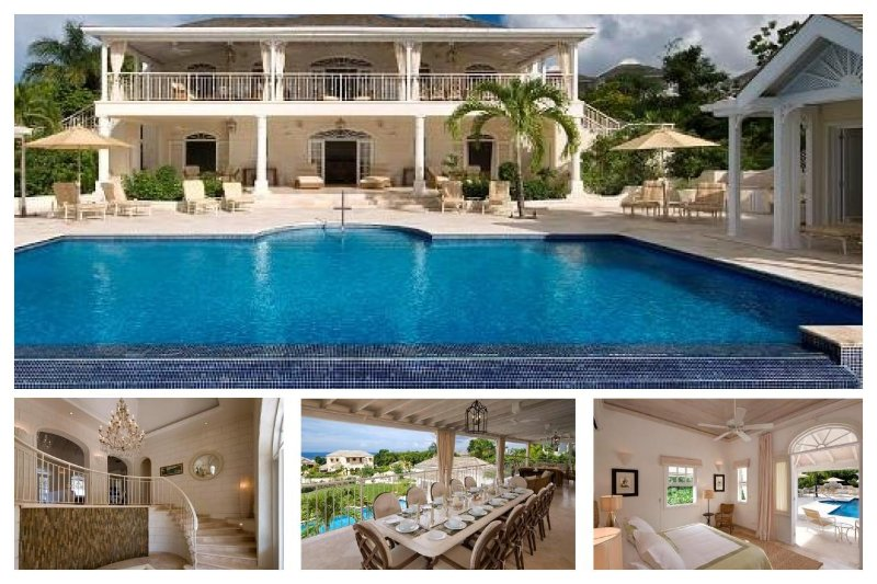 Stunning 6 Bed Home with Private Infinity Pool - Image 1 - Gibbs Bay - rentals