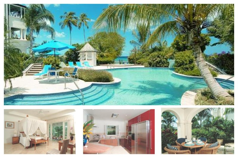 A luxurious 1 bed penthouse apartment with en-suite bathroom, all set within a well equipped resort on the beach - Image 1 - Mullins Beach - rentals