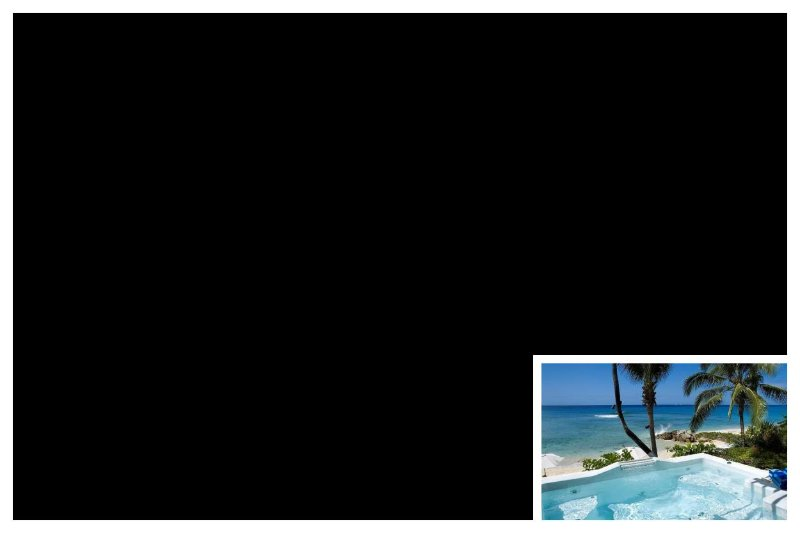 Stunning 2 Bed Villa with Direct Beach Access - Image 1 - Gibbs Bay - rentals