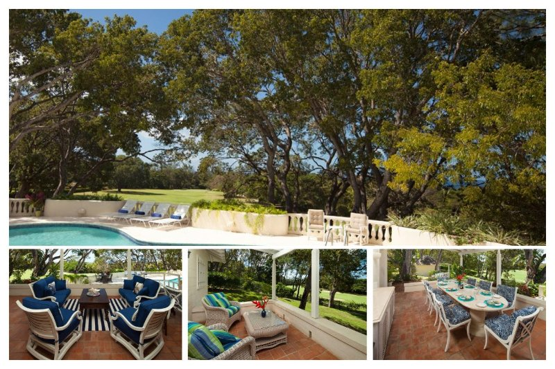 Beautiful 5 bedroom home with great pool! Outdoor dining and spacious bedrooms - Image 1 - Sandy Lane - rentals
