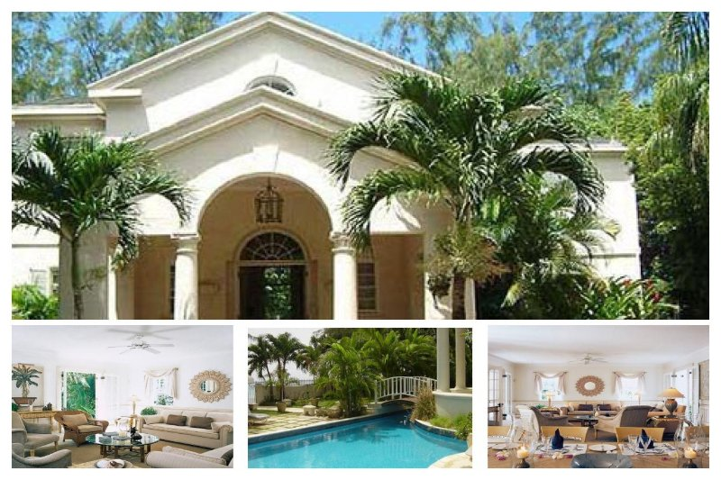 Beautiful, exquisitely designed 4 bedroom coralstone villa, set right on the beach. - Image 1 - Lascelles Hill - rentals