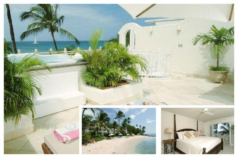 Fantastic 2 Bed Beachfront Villa - Private Spa - Image 1 - Lascelles Hill - rentals