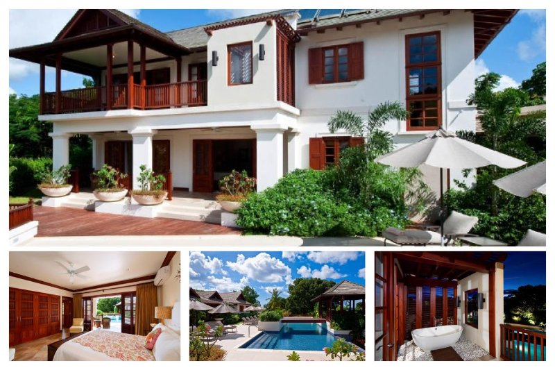 Stunning 4 Bed Home with Infinity Pool, Media Room - Image 1 - Gibbs Bay - rentals