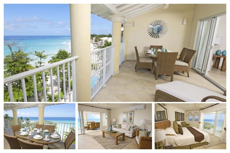 Amazing 3 Bed Beachfront Condo with Ocean Views - Image 1 - Dover - rentals