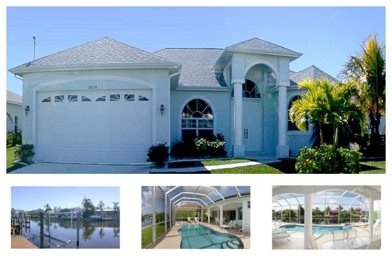 Huge pool area- Spa- Exclusive 3 bedroom villa- Peaceful area- Pet friendly- minutes from Eco Park - Image 1 - Cape Coral - rentals