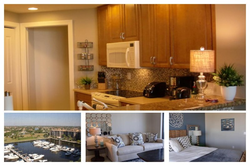 2 bedroom luxury condo- Beautiful views over Cape Harbour- Pool- Spa- North exposure- On canal - Image 1 - Cape Coral - rentals