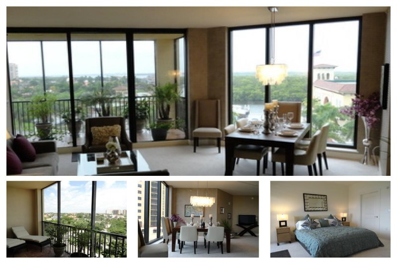 South facing 3 bed condo- Beautiful views- Exquisite furnishing- Private balcony- Community pool - Image 1 - Cape Coral - rentals