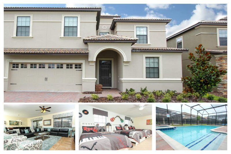 Beautifully decorated, refreshing and new Championsgate villa- Games room- Spa- Private pool - Image 1 - Loughman - rentals