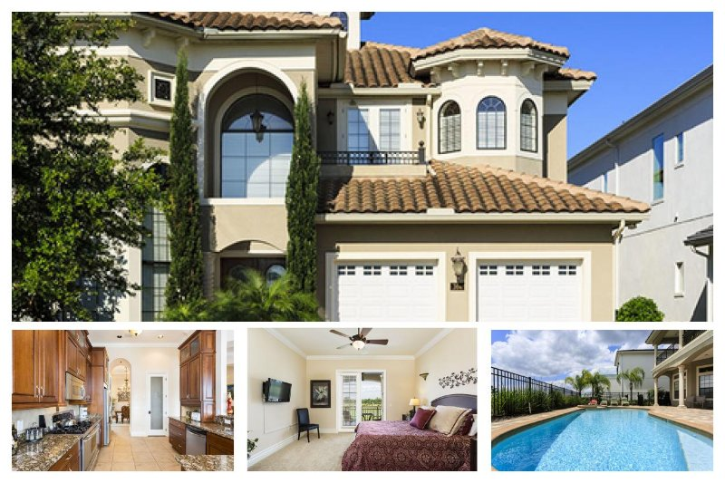 6 Bedroom, 5.5 Bathroom Pool Villa with Golf Views and a games room - Image 1 - Reunion - rentals
