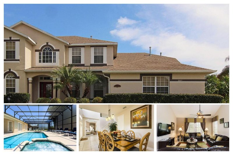 Fantastic 7 Bed Luxury Home - 4 Miles to Disney! - Image 1 - Four Corners - rentals