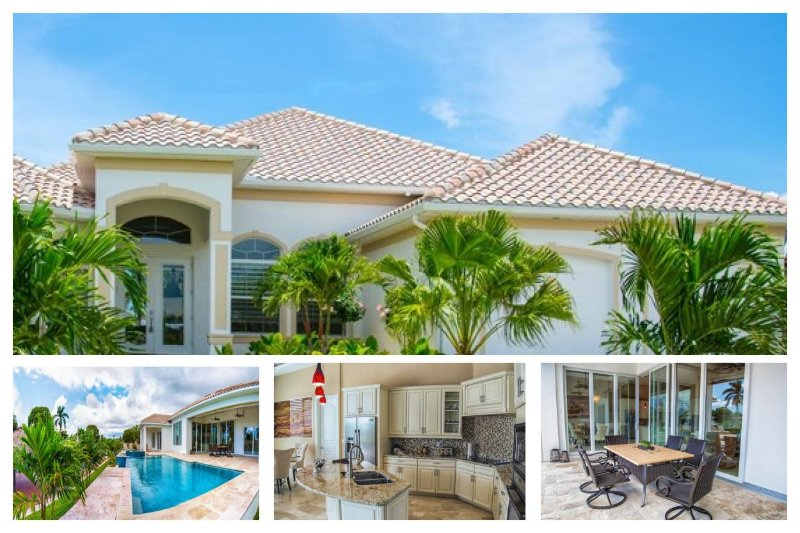 Wonderfully designed 3 Bedroom Villa with Private Pool & Spa. Lovely gardens and patio area - Image 1 - Cape Coral - rentals