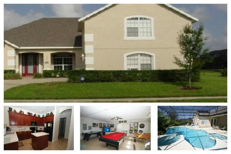 Stunning 5 Bed Home with Pool - 2 Miles to Disney! - Image 1 - Four Corners - rentals
