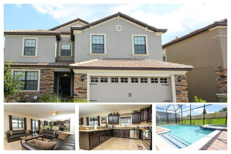Remarkable 6 bedroom Championsgate villa- Private pool & spa- Games room- Luxury furnishings - Image 1 - Four Corners - rentals