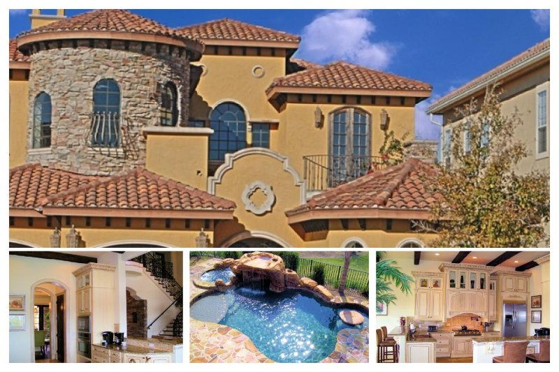 Stunning 6 Bedroom, 6.5 bathroom Reunion Resort home with amazing pool and golf views - Image 1 - Reunion - rentals