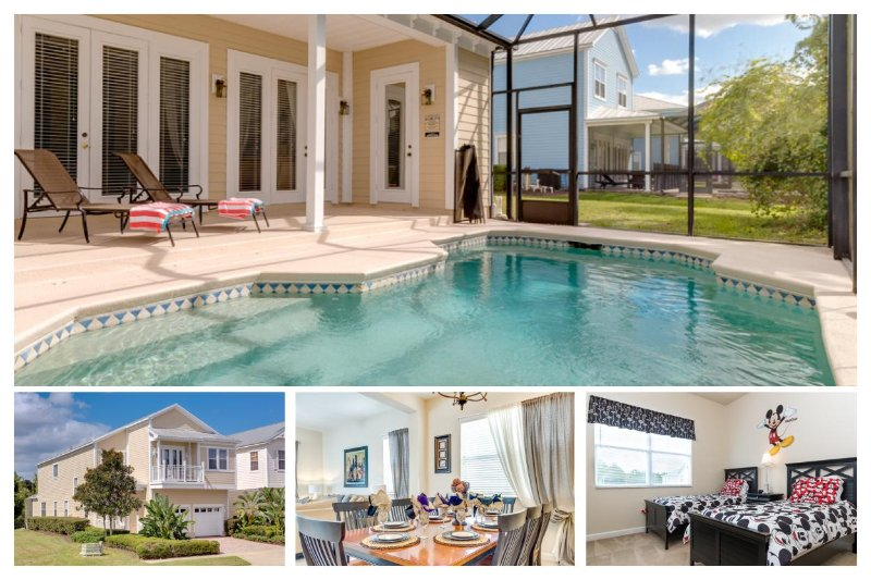 5 bedroom, 4.5 bathroom villa with fantastic games room, private pool and 2 living rooms - Image 1 - Loughman - rentals