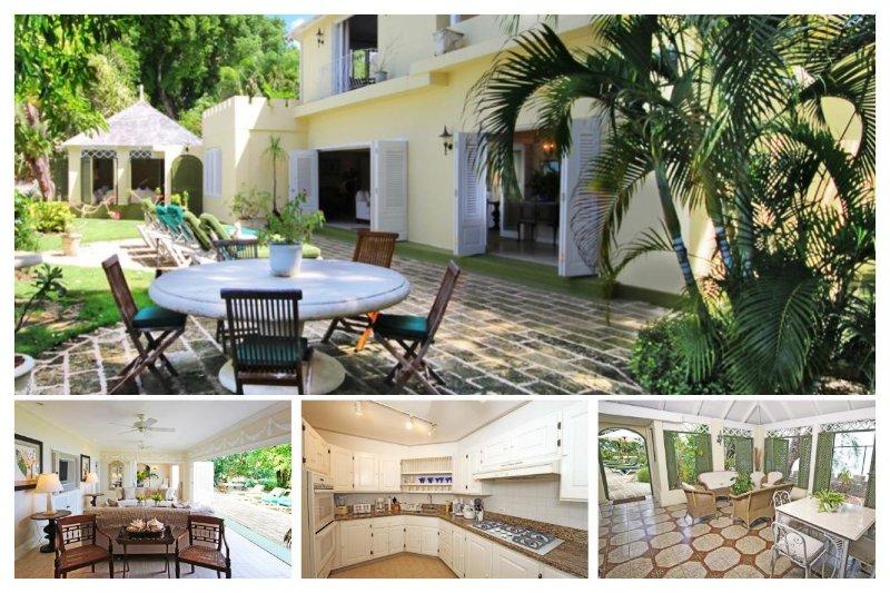 Luxury 3 Bed Beachfront Home - 2 Acre Gardens - Image 1 - Gibbes - rentals