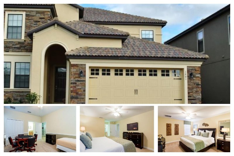 Fabulous 8 bedroom luxury villa- Pool- Spa- Games room- 6 miles from Disney- Easy access to golf - Image 1 - Loughman - rentals