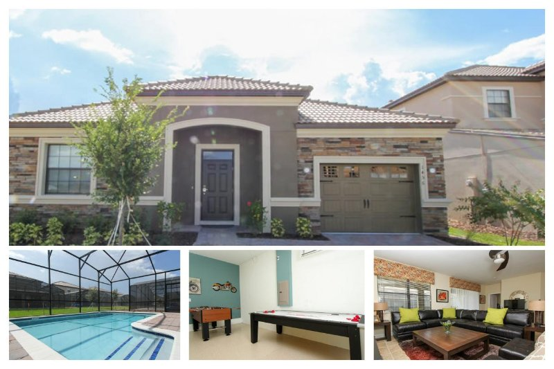 4 bedroom - BRAND NEW - Championsgate villa - 6 miles from Disney - Private pool & Games room - Image 1 - Loughman - rentals