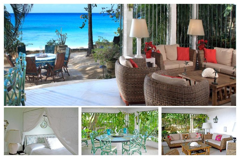 Barbados 200 is a beautiful beachfront villa with a wonderful view and plenty to offer. - Image 1 - Gibbs Bay - rentals