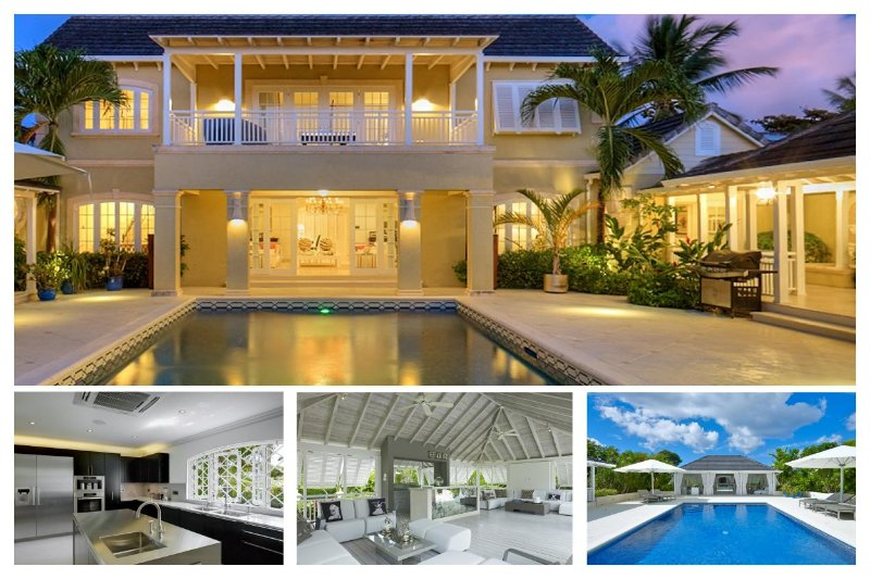 Beautiful 5 bedroom villa, beach access and brilliant view of the golf course - Image 1 - Sandy Lane - rentals