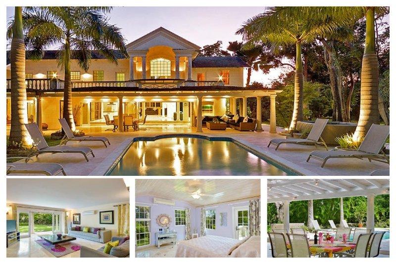 Luxury 4 Bed Home - Media Room, Pool, Jacuzzi - Image 1 - Paynes Bay - rentals