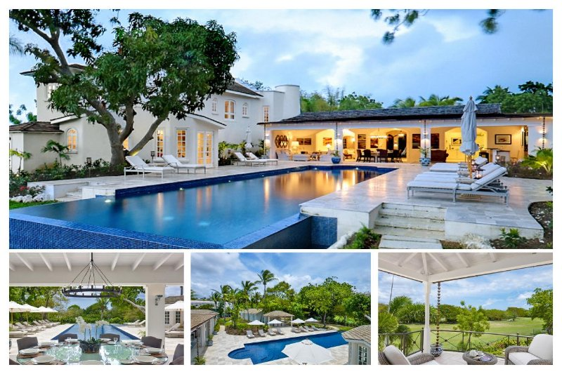 Stunning 7 Bed Home - 58ft Private Infinity Pool - Image 1 - Paynes Bay - rentals