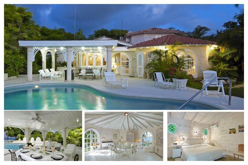 Luxury 4 Bed Beachfront Home - Caribbean Sea Views - Image 1 - The Garden - rentals