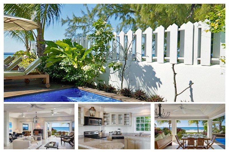 Beautiful Beachfront Villa with Stunning Views - Image 1 - Fitts Village - rentals