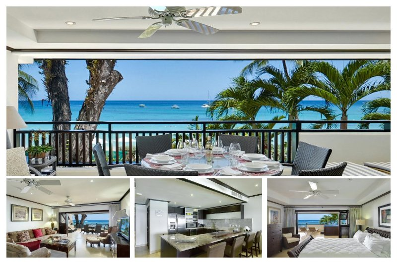 Luxury Apartment with Sea View Terrace, Jacuzzi - Image 1 - Paynes Bay - rentals