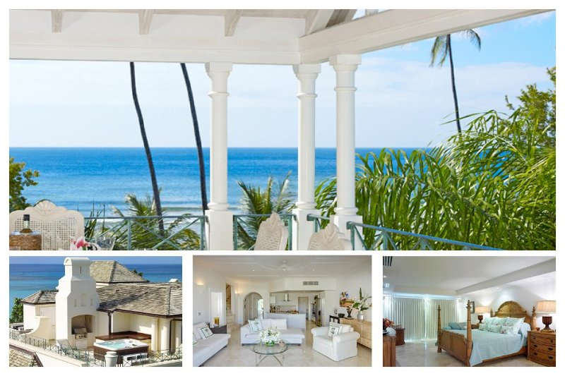 This exclusive, luxurious 2 story beachfront penthouse apartment offers an idyllic beach front experience - Image 1 - Speightstown - rentals