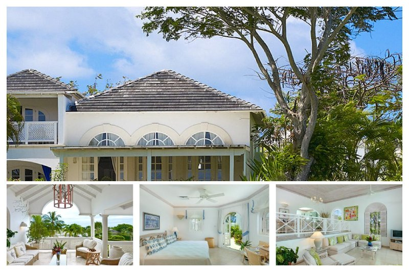A modern split level golf villa featuring a private terrace in the master suite and the 2nd bedroom is situated in the cottage - Image 1 - Westmoreland - rentals