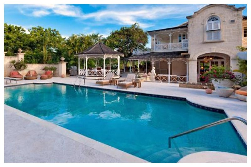 Beautiful 4 Bed Home with Private Pool and Gym - Image 1 - Sandy Lane - rentals
