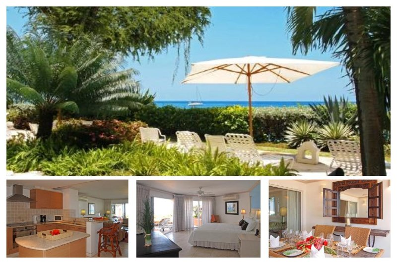 Beautiful 2 bedroom condo located on the West Coast in the heart of holetown. Views of the ocean - Image 1 - Lascelles Hill - rentals