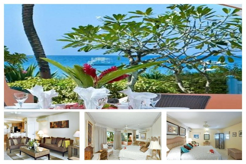 Lovely 2 bedroom apartment in the heart of holetown, overlooking the ocean. - Image 1 - Lascelles Hill - rentals