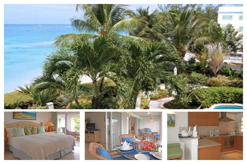1 Bedroom condo situated the heart of Holetown. Ocean views and communal swimming pool - Image 1 - Lascelles Hill - rentals