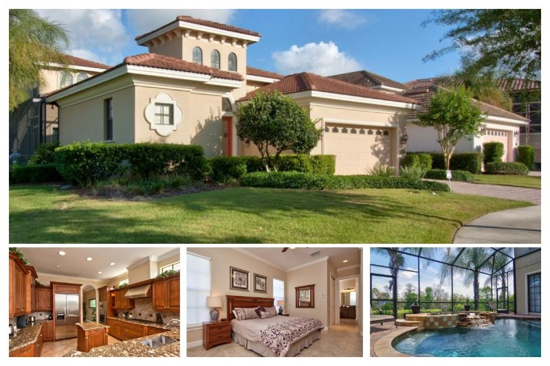 Beautiful 4 bed - Covered pool with Spa - Pet Friendly - Image 1 - Reunion - rentals